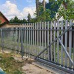 Забор СНТ Ямбург