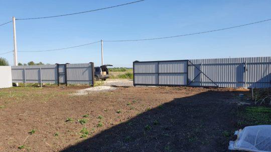 Забор КП Вольные Угодия