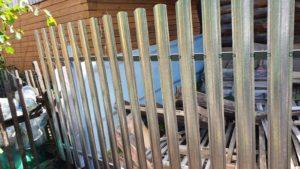 Забор в Снт тополя-1