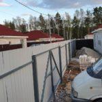 забор из профнастила Перевалово